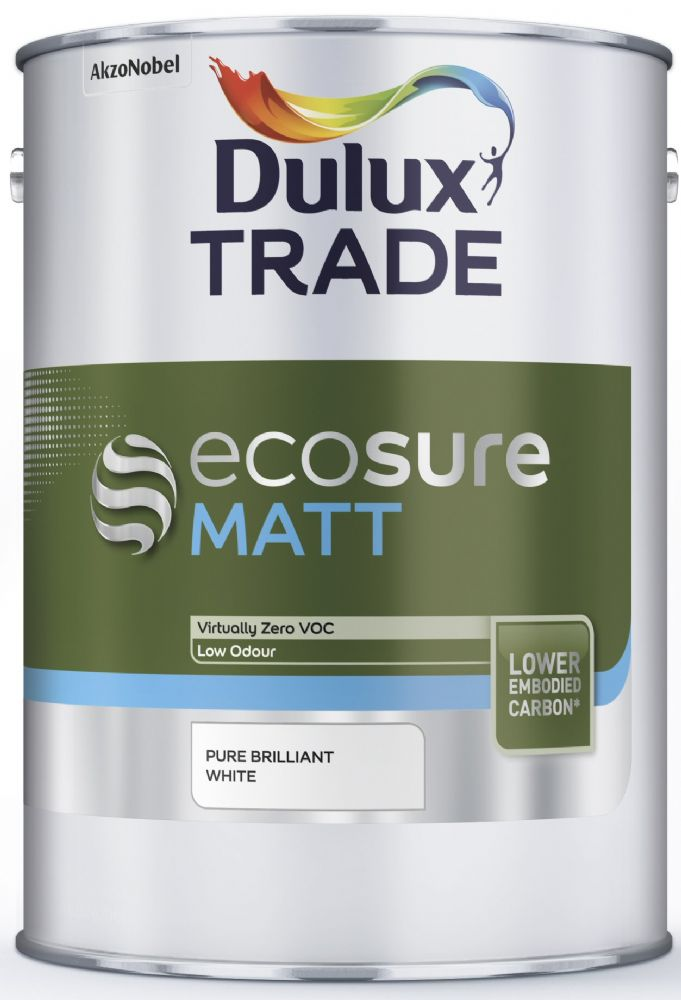 Dulux Trade Ecosure Matt Custom Mixed Colours 5 Litres